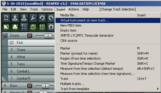Replace Drum Track With Midi Trigger Using Reaper and
